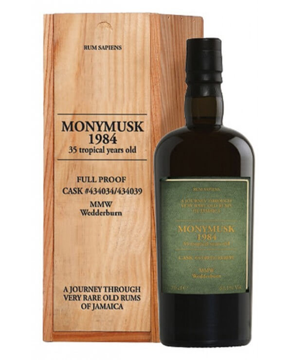 Monymusk 1984 63.1% 35 Tropical years old Rum Sapiens