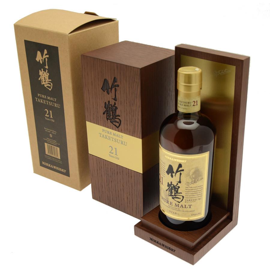 Nikka Pure Malt 21 years Taketsuru Whisky