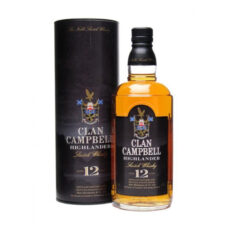 Clan campbell 12 years old Whisky