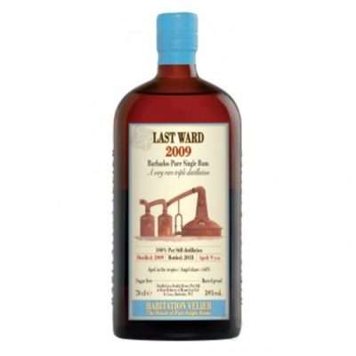 Last ward 2009 Jamaica Pure Single Rum Habitation Velier