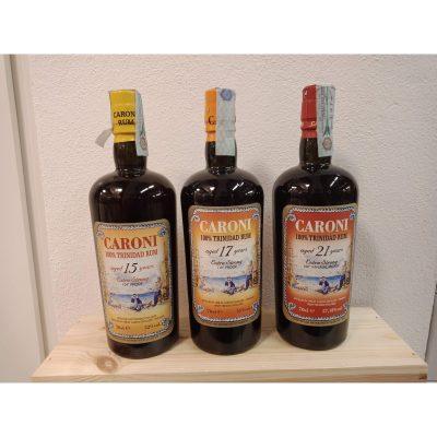 Tris Caroni Rum