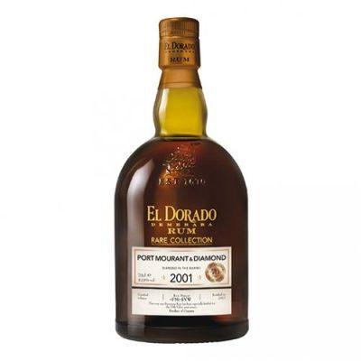 Rare Collection Port Mourant & Diamond 2001 - El Dorado Demerara Rum