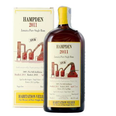 Hampden 2011 LFCH Jamaica Pure Single Rum Habitation Velier
