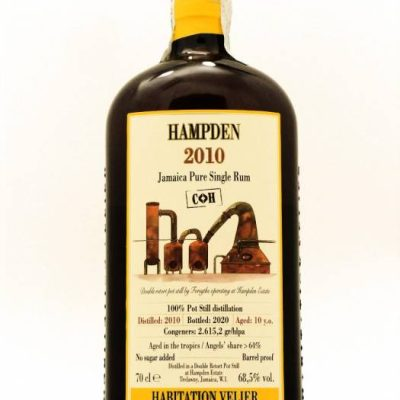 Hampden 2010 COK Jamaica Pure Single Rum Habitation Velier
