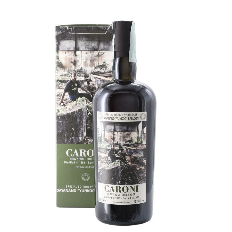 Caroni 1998 Dayanand Yunkoo Balloon age 22 years old Rum Full Proof