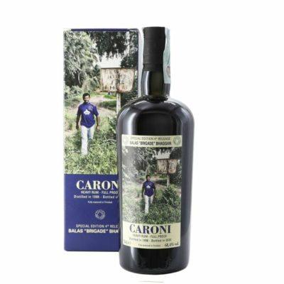 Caroni 1998 Balas Brigade Bhaggan age 22 years old Rum Full Proof