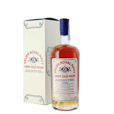 Velier Royal Navy Rum Blend Trinidad (20 years) Guyana (15 years) Jamaica (12 years) Average Age 17,42 Years