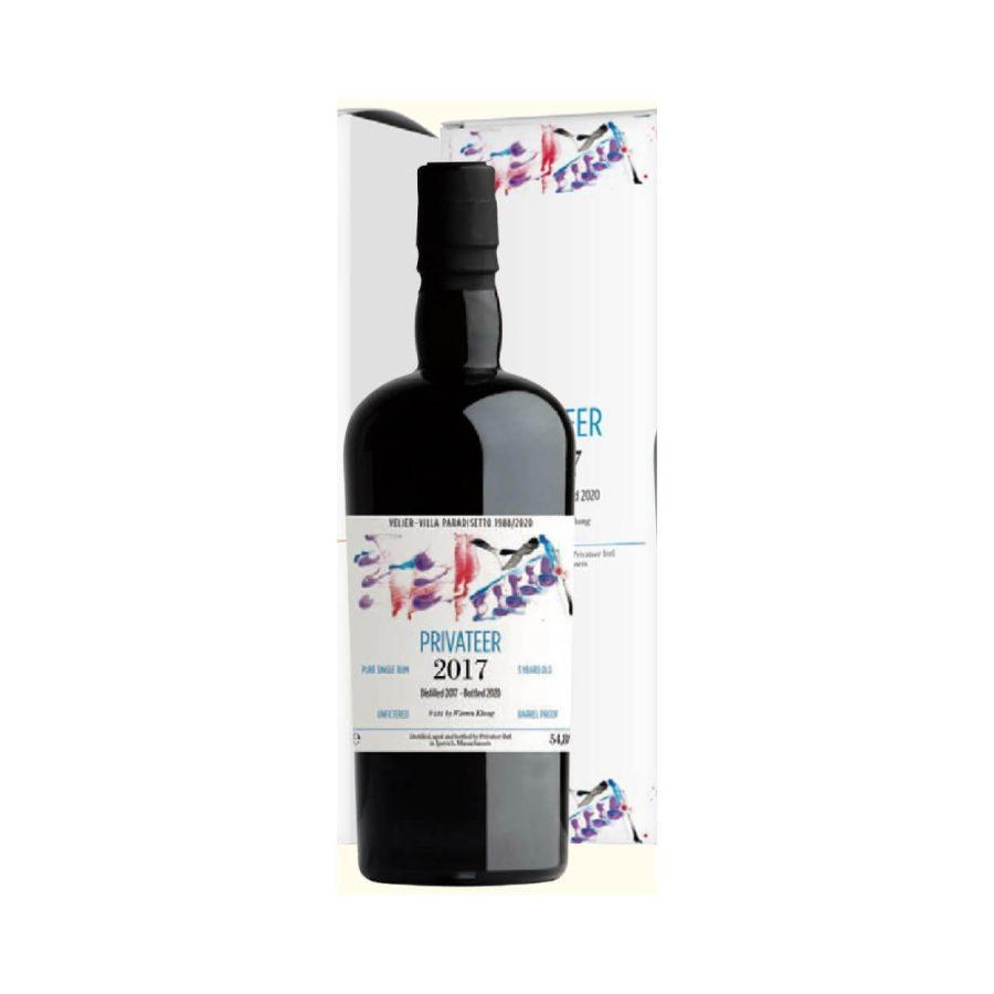 Privateer 2017 bottled 2020 Barrel Proof Velier Villa Paradisetto 1988/2020