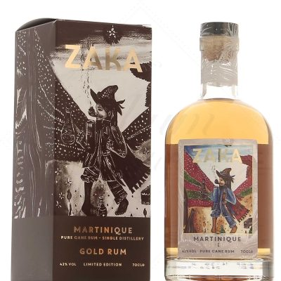 Zaka Martinique Gold Pure Cane Rum