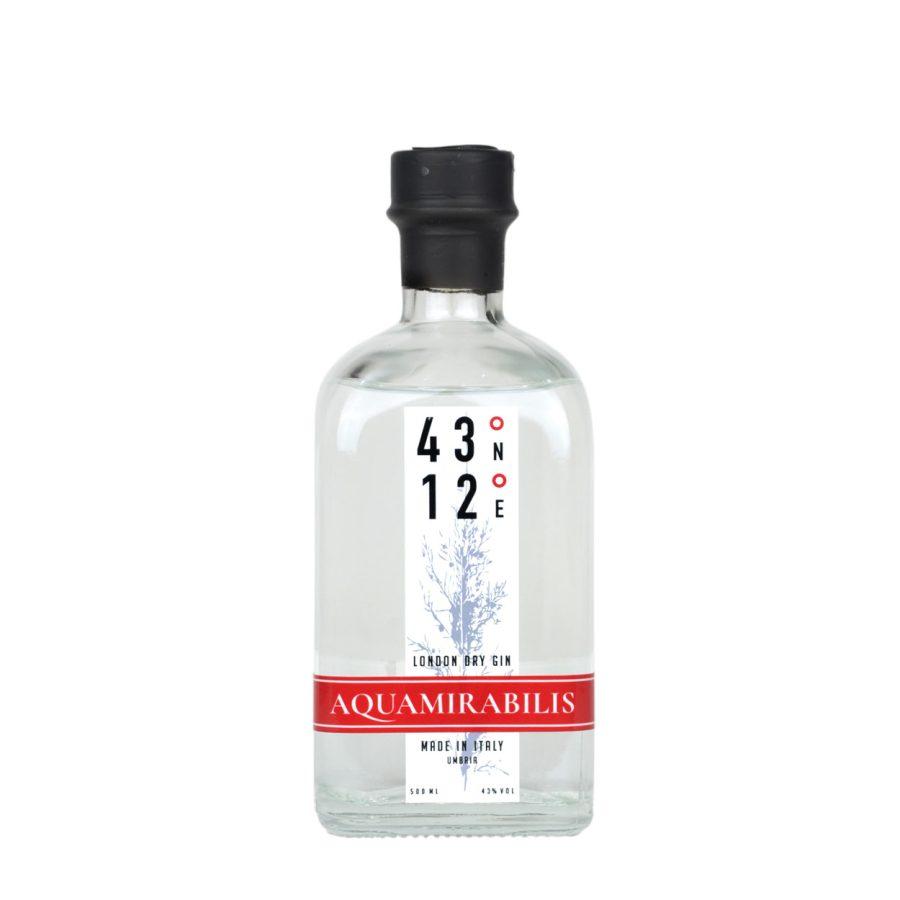 Aquamirabilis Gin 43°12° Gubbio
