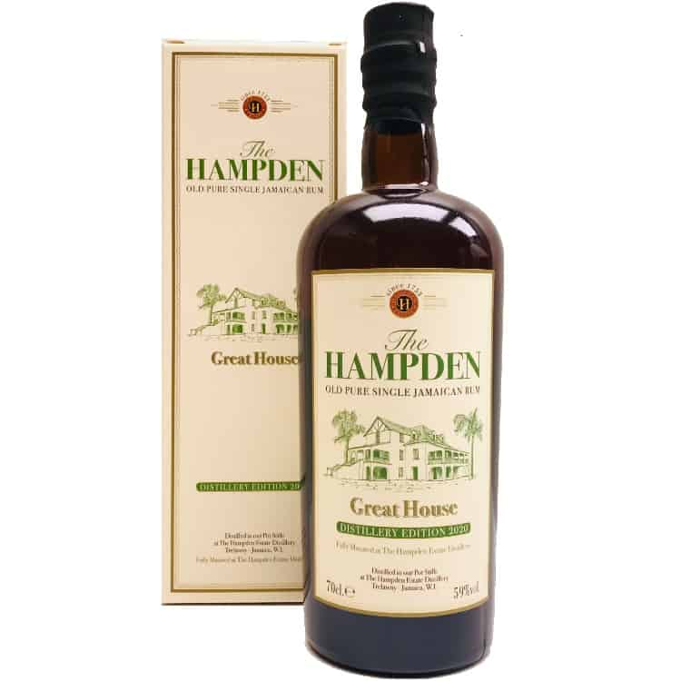 Great House Distillery Edition The Hampden old pure single jamaican rum edition 2020