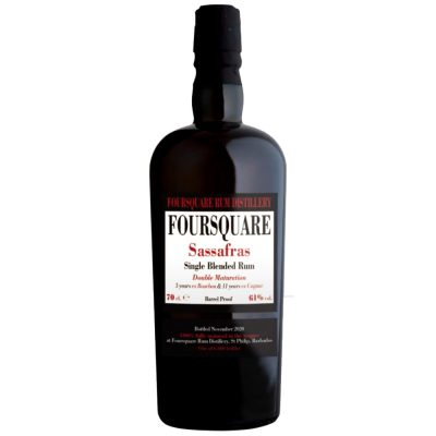 Sassafras Foursquare Single Blended rum Double Maturation