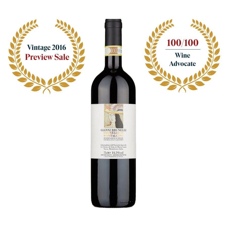 Brunello di Montalcino 2016 (100/100) Gianni Brunelli