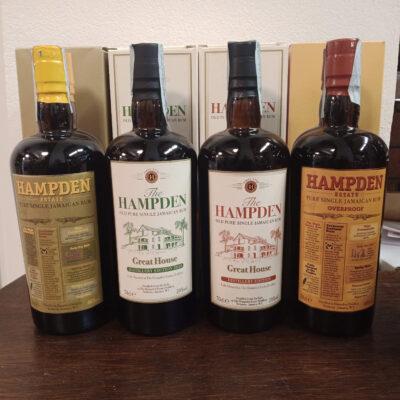 4 Hampdem: Base, Distillery Edition 2020, Distillery Edition, Overproof