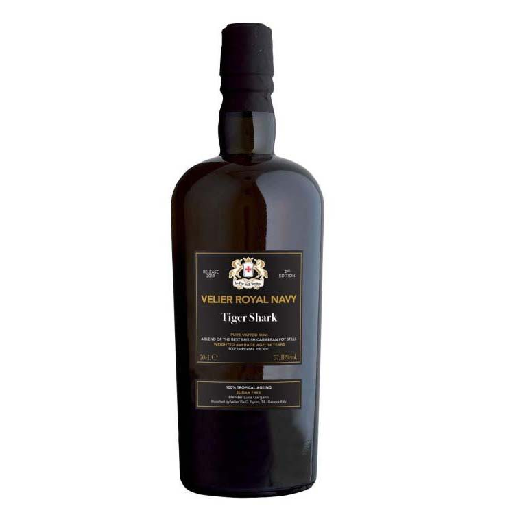 Tiger Shark Rum Velier Royal Navy 100% Tropical Ageing