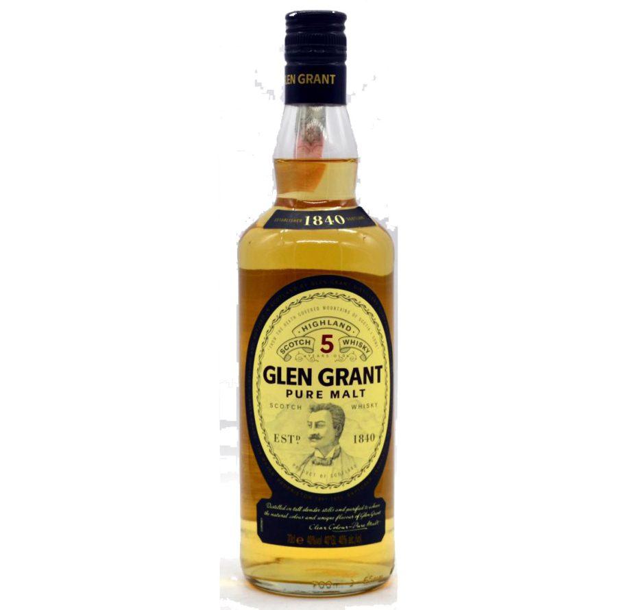 Glen Grant 5 Years Scotch Whisky Vintage