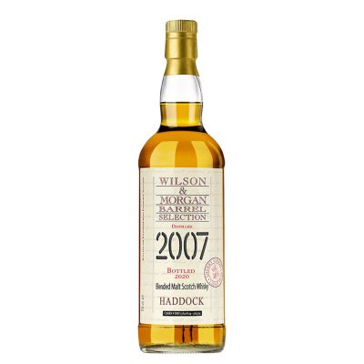 Wilson & Morgan barrel selection distilled 2007 Haddock Whisky