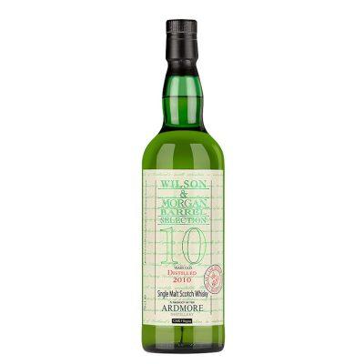 Wilson & Morgan barrel selection 10 distilled 2010 Ardmore Single Malt Scotch Whisky