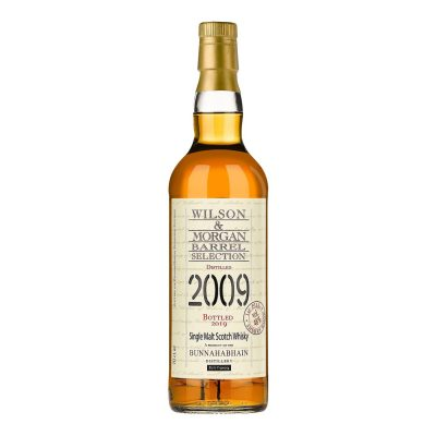 Wilson & Morgan barrel selection distilled 2009 Bunnahabhain Whisky