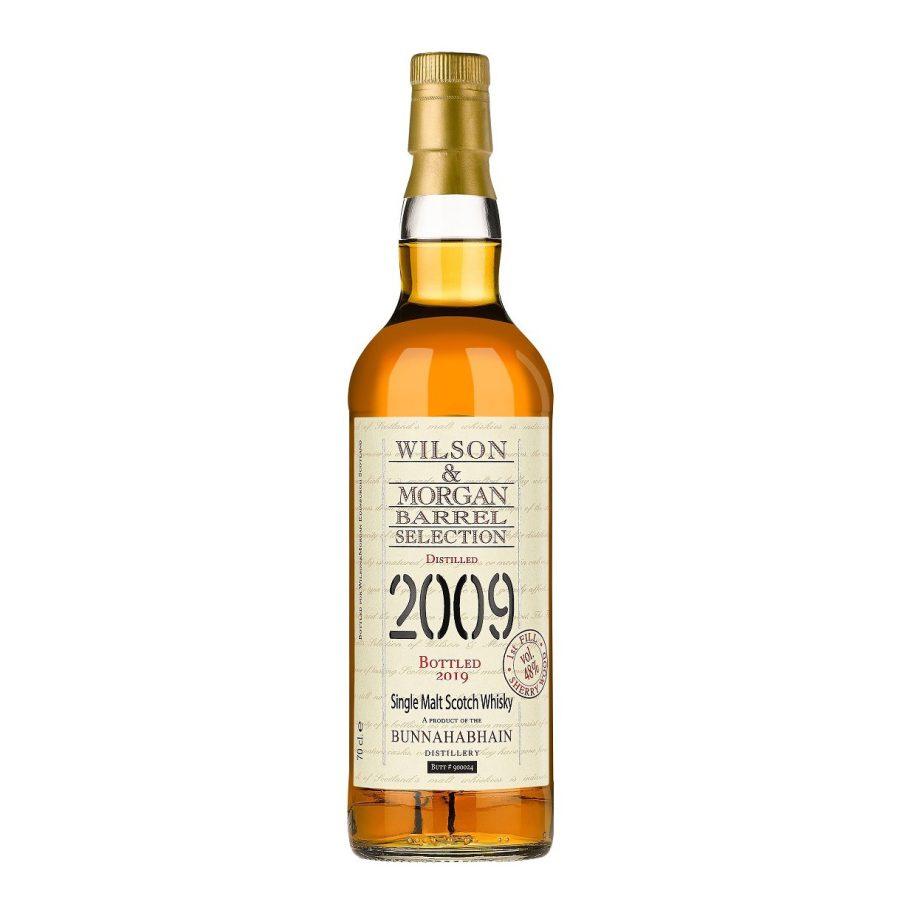 Wilson & Morgan barrel selection distilled 2009 Bunnahabhain Whisky