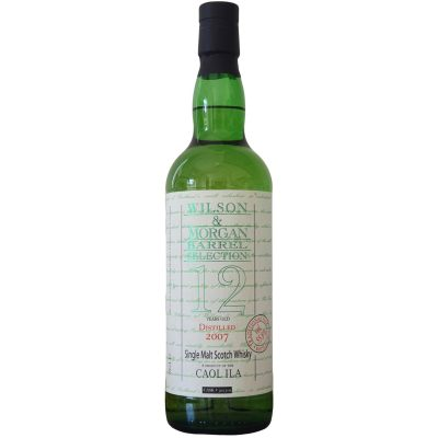 Wilson & Morgan barrel selection 12 distilled 2007 Caol Ila Whisky