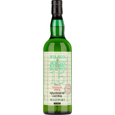 Wilson & Morgan barrel selection 15 distilled 2004 Westport Highland Blanded Malt Scotch Whisky