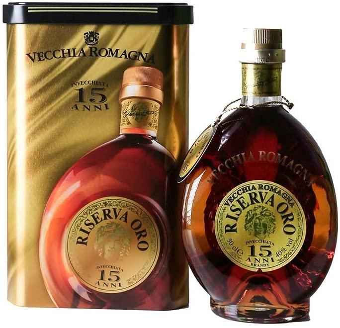 Brandy Vecchia Romagna 15 anni Riserva d'Oro