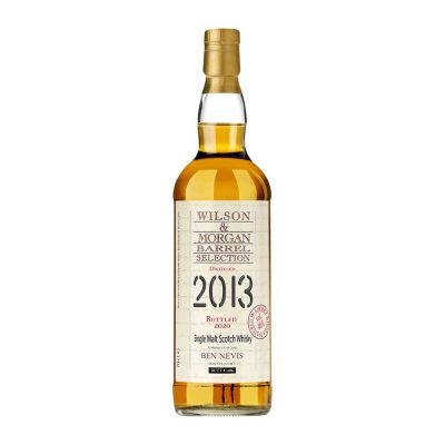Wilson & Morgan barrel selection distilled 2013 Bottled 2020 Ben Nevis Whisky