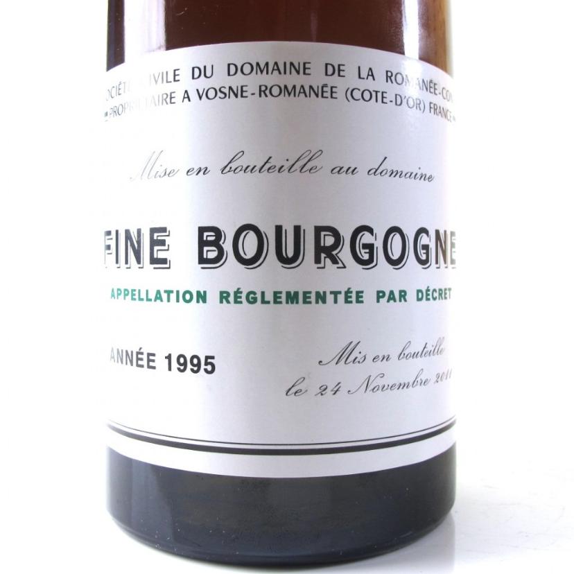 Fine Bourgogne 1995 Romanee Conti