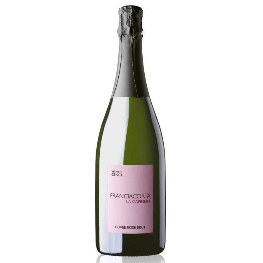 Franciacorta La Capinera Cuvée Rosé Brut Vigneti Cenci
