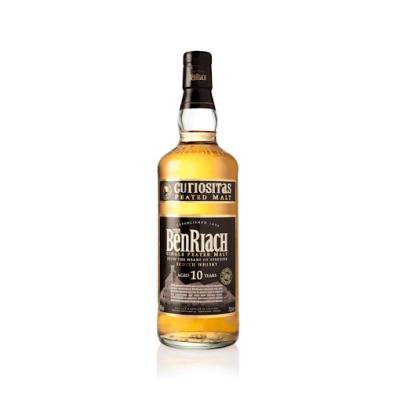 BenRiach 10 Years Curiositas Single Peated Malt Scotch Whisky