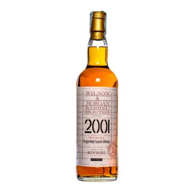Wilson & Morgan barrel selection distilled 2001 Bowmore Whisky