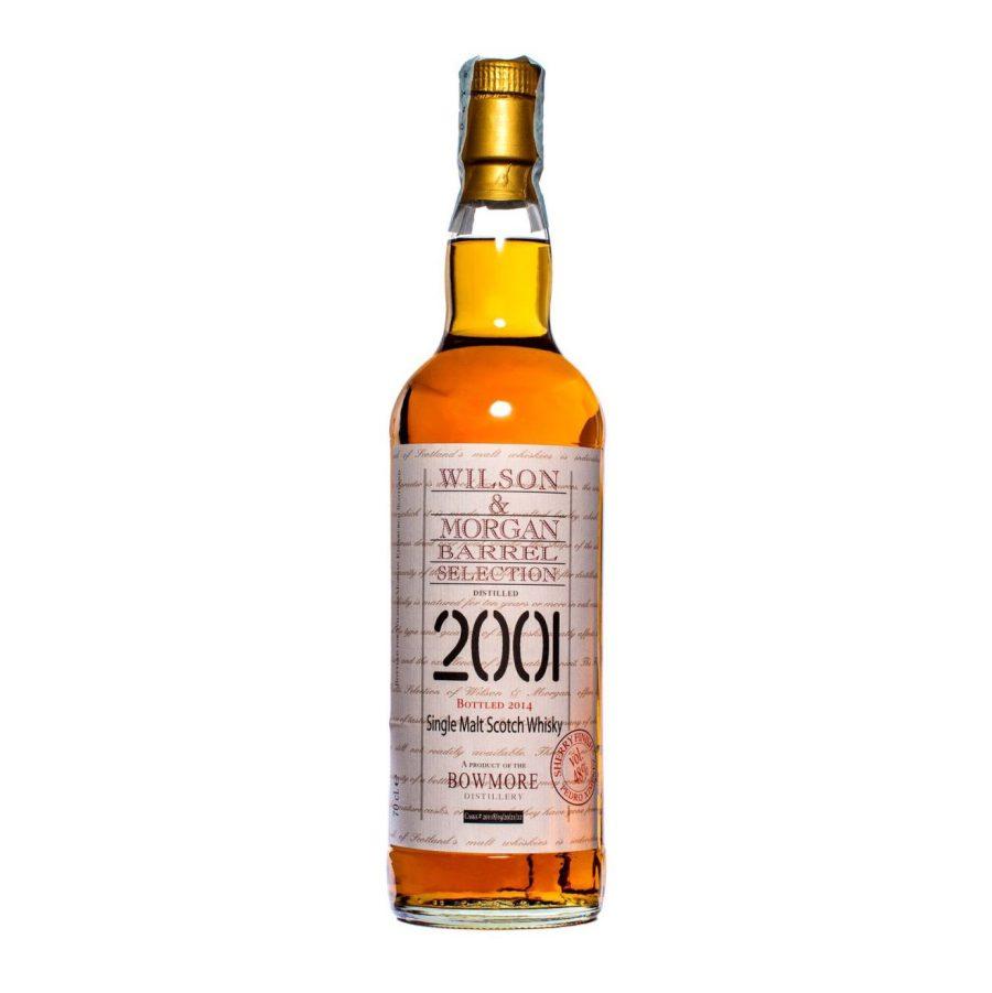 Wilson & Morgan barrel selection distilled 2001 Bowmore Whisky