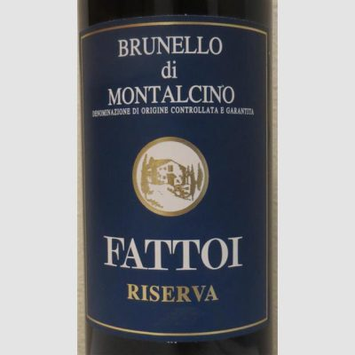 Brunello di Montalcino Riserva 2015 Fattoi