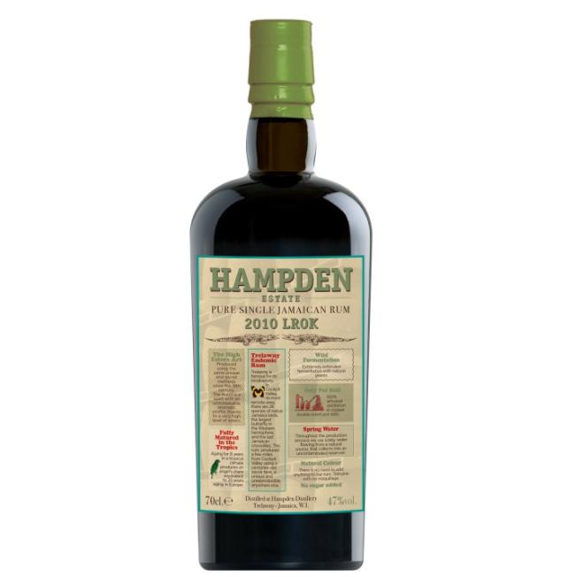 Hampden 2010 LROK Pure Single Jamaica Rum Habitation Velier