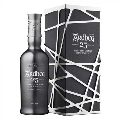 Ardbeg 25 Year Old Islay Single Malt Scotch Whisky