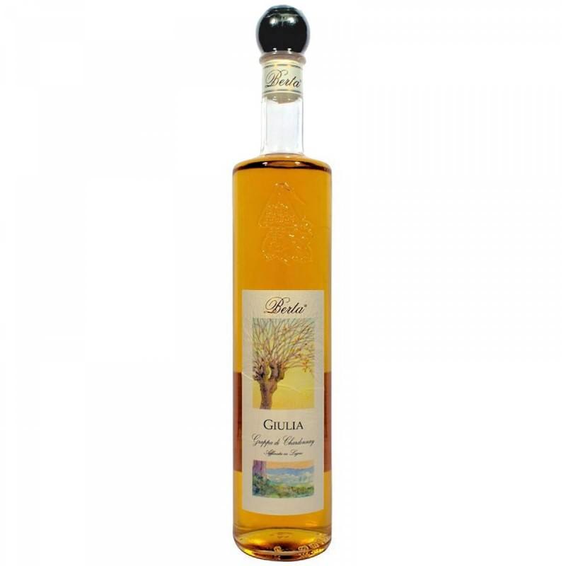 Grappa Berta Giulia, Grappa di Chardonnay e Cortese Invecchiata