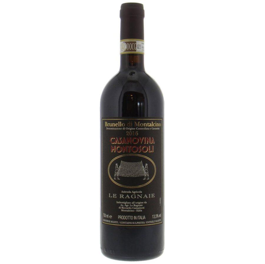 Brunello di Montalcino 2016 Magnum 1.5 Litre Casanovina Montosoli Le Ragnaie
