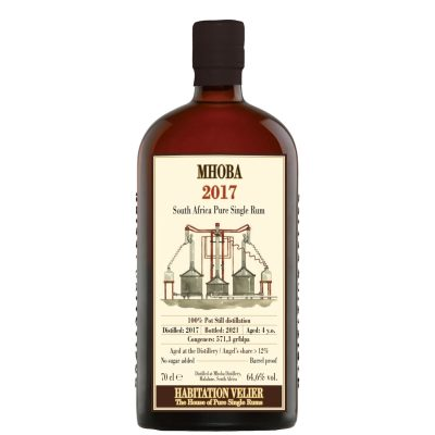 Mhoba 2017 Aged 4 Years South Africa Pure Single Rum Habitation Velier