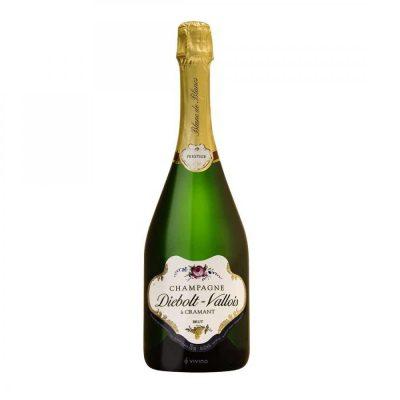 Champagne Blanc de Blanc Brut Diebolt - Vallois à Cramant