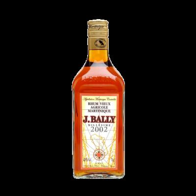 J. Bally 2002 Rum Vieux Agricole Martinique Millesimé