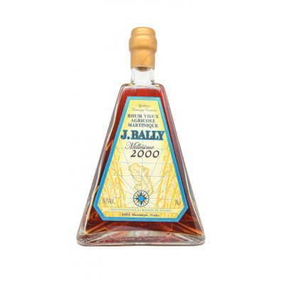 "J. Bally 2000 Rum  Vieux Agricole Martinique Millesimé ""Pyramid"""