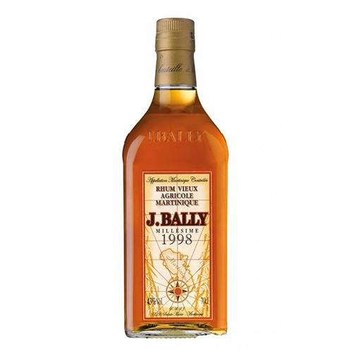 J. Bally 1998 Rum Vieux Agricole Martinique Millesimé