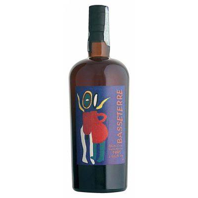 Basseterre 1995 Rum Vieux Guadaloupe Carrère