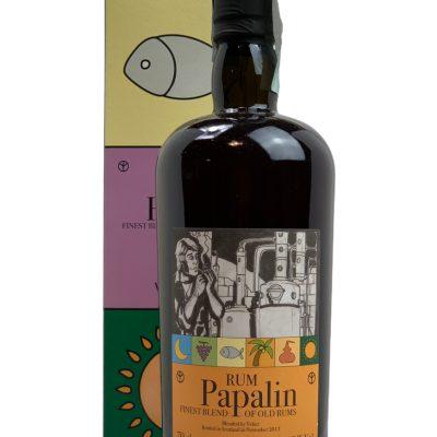Rum Papalin bottled 2013 Finest Blend of Old Rums Velier