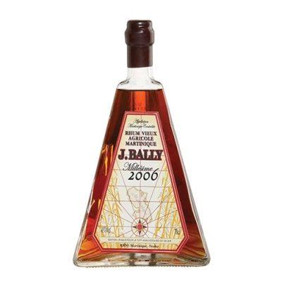 "J. Bally 2006 Rum Vieux Agricole Martinique Millesimé ""Pyramid"""