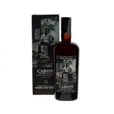 "Caroni Dhanraj ""Dan"" Maharaj 1996 Bottled 2021 Heavy Rum Full Proof"
