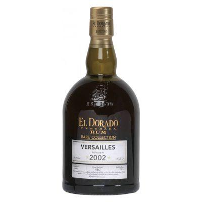 Rare Collection Versailles 2002 – El Dorado Demerara Rum