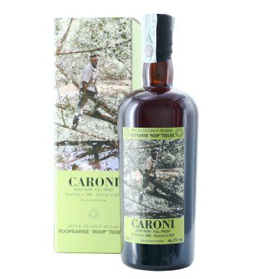 """Caroni Roopnarine """"Roop"""" Toolsie 1996 Bottled 2021 Heavy Rum Full Proof"""